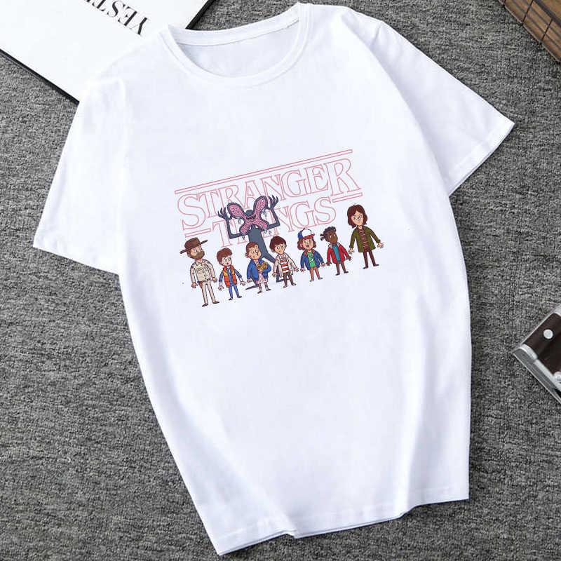 זר דברים 3 t חולצה עשר 2019 נשים חדש חולצת טי היפ הופ 90s גותי נשי בגדי femme streetwear kawaii במהופך