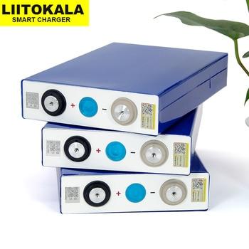 4PCS Liitokala 3.2V 90Ah battery LiFePO4 Lithium iron phospha Large capacity 90000mAh Motorcycle Electric Car motor batteries