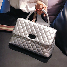 Women Luxury Brand Quilted Crossbody Bag High Quality 2020 New Classic Plaid Cha