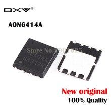 10 шт., оригинальный МОП транзистор AON6414A AON6414 AO6414A 6414A, с функцией MOSFET