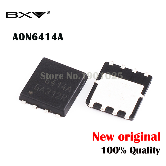AON6414A AON6414 AO6414A 6414A QFN 8 MOSFET, original, 10 Uds.