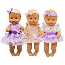 Nouvelle robe poupée vêtements ajustement 35cm Nenuco poupée Nenuco su Hermanita poupée accessoires