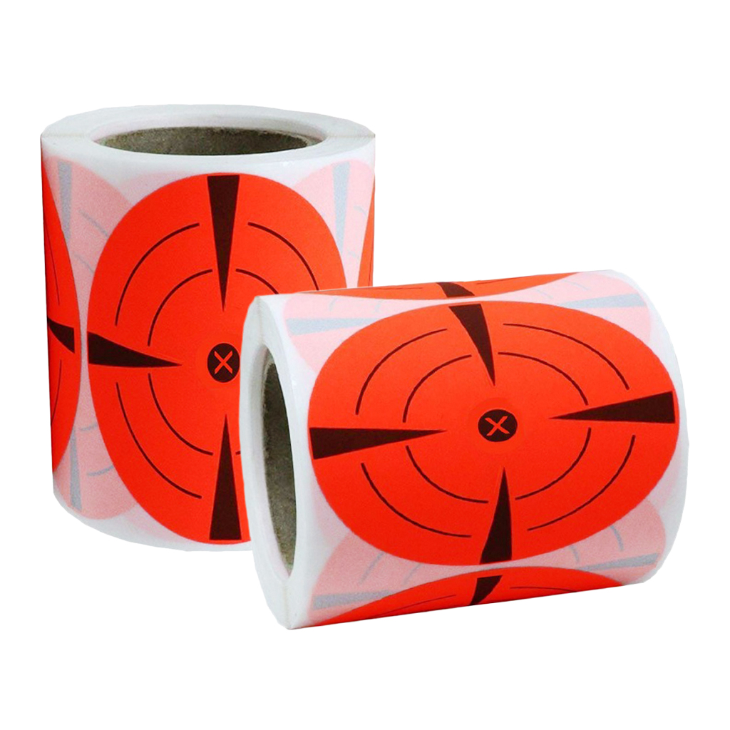 250x Shooting Target Stickers 3