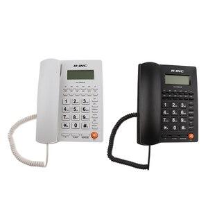 Image 4 - 固定電話コード付きホームオフィスデスク電話バックライトディスプレイ発信者 ID