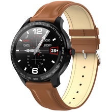 цены LETUPS L9 Smart Watch PPG+ECG Men Full Round Touch Screen Bluetooth Call Ip68 Waterproof Strap Replaceable pk L5 Smartwatch