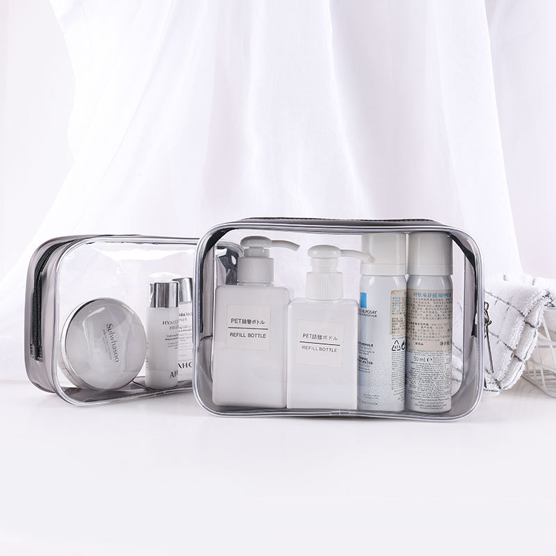 Waterproof Portable Makeup Cosmetic Toiletry Travel Makeup Cosmetic Toothbrush Pouch Organizer Bag Wash Pouch