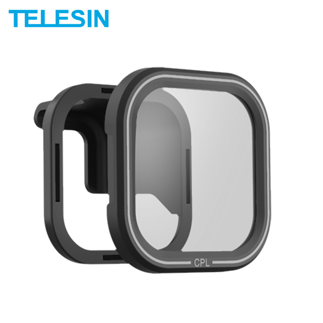 טלסין מקטב CPL מסנן עדשת מגן מגנטי מסנן עם הר עבור GoPro גיבור 8 שחור פעולה מצלמה עדשת Accessoreis