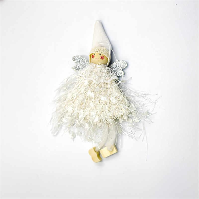 ナヴィダードぬいぐるみ天使のペンダント革新的なクリスマスツリー装飾クローゼットオー装飾