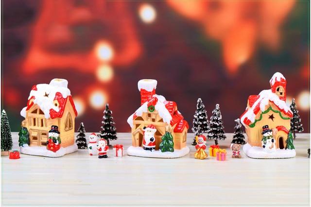 Teapot House Miniature Fairy Garden Miniaturas Micro Moss Landscape Diy Terrarium Accessories Figurines for Home Decor 3
