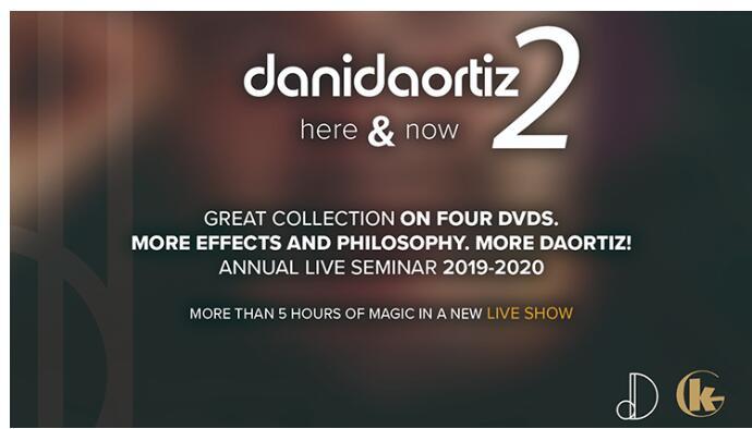 Dani DaOrtiz - Here & Now 2 (1-4) - MAGIC  TRICKS