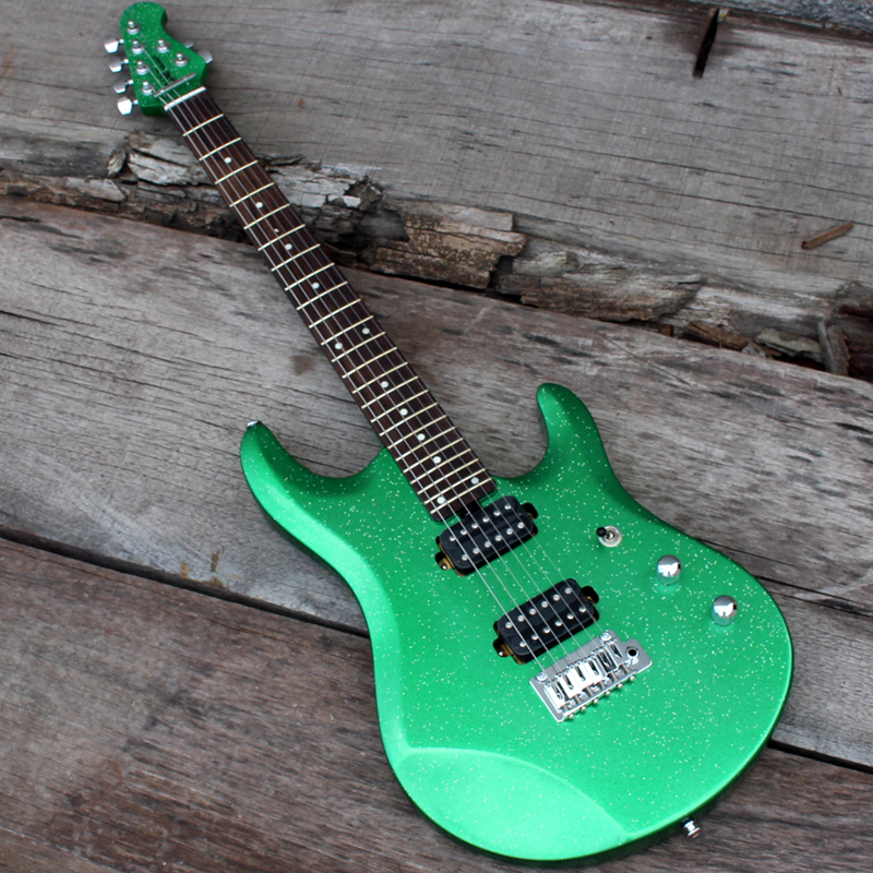 In Stock Eart JP60L Factory custom shop electric guitar, Metallic Green High quality 6 string Guitarra, More color options