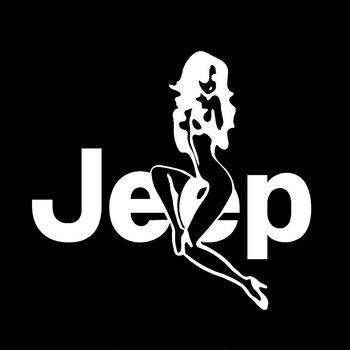 cartoon-sexy-woman-girl-jeep-girl-car-sticker-vinyl-auto-accessories-car-window-car-styling-decal-pvc-15cm14cm