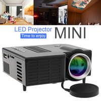 UC28B Домашний Мини проектор передвижной поддержка 1080P HD светодиодный медиа-проигрыватель для домашнего кинотеатра Развлечения