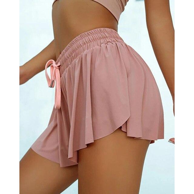 Running Pocket Shorts Ladies Workout High Waist Biker Elasticity Short Female Push Up Fitness Clothing Shorts Quick Dry Scanties 4