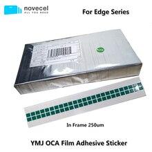 50 teile/los In frme OCA Film Optische Klare Klebstoff Für Samsung Note10 S8 S9 S10 + Plus Note8 S7 Rand LCD Touch Glas Objektiv Aufkleber