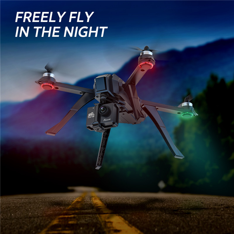 Potensic D85 GPS drone HD 1080p Camera 5G WIFI FPV drone Brushless follow me Mode Remote Control RC Quadrocopter Toys Gifts (Black)