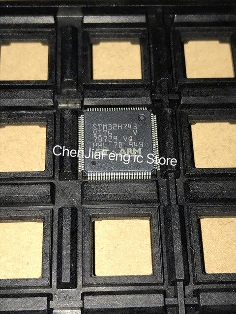 1 個〜 10 ピース/ロット STM32H743VIT6 QFP100 新オリジナル