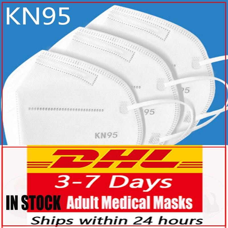 DHL N95masks-medical-carbon Reusable Respirator Facemask Mascarillas Women Men Fashion Face-mask-protective Ffp3mask-n95