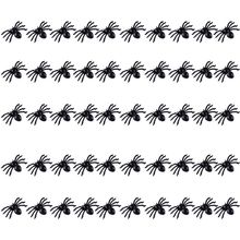 Plastic Spiders Halloween Decoration Small Fake Spider Funny Toy