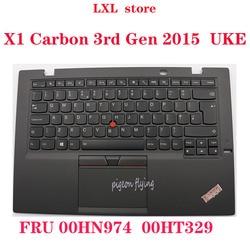 X1 Carbon 3rd Gen для 2015 Thinkpad Клавиатура для ноутбука UKE английский 20BS 20BT тачпад C-cover SN20G18594 FRU 00HN974 00HT329 Новый