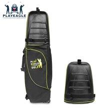 Golf Luchtvaart Tas Hard Top Bodem Met Wielen Shockproof Golf Reizen Cover Bag Portable Opvouwbare Golf Luchtvaart Zak Airbag golf