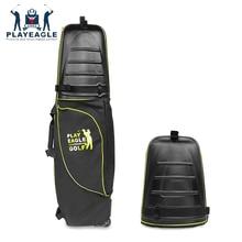 골프 항공 가방 하드 탑 하단 바퀴 Shockproof 골프 여행 커버 가방 Protable 접는 골프 항공 가방 에어백 골프