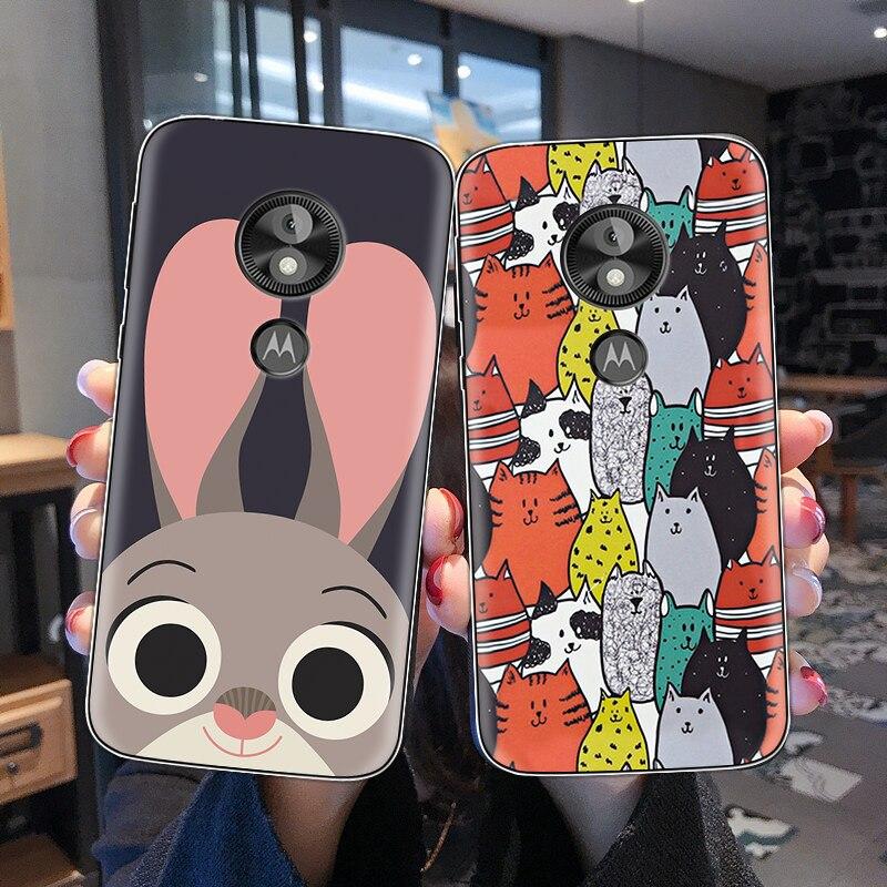 Case For Motorola G7 Play Case For Moto C E4 E5 G3 G4 G5 G6 Z Z2 Z3 Z4 Play Plus Cartoon Animal Soft TPU Silicone Back Cover