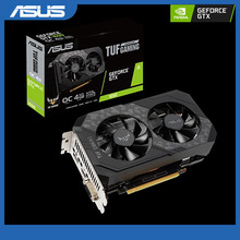 Gaming-Graphics-Card Geforce GDDR6 Asus Tuf Gtx 1650 TUF-GTX1650-O4GD6-P-GAMING DP DVI