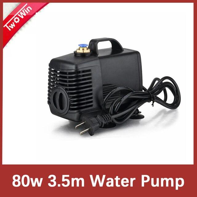 80w 3,5 m Wasserpumpe Gravur Maschine Werkzeug Kühlung für CNC Router 2.2kw Spindel Motor und 1.5kw Spindel Motor