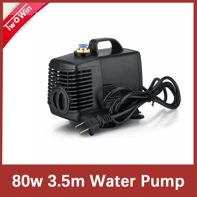 80w 3.5m 물 펌프 조각 기계 cnc 라우터에 대 한 냉각 2.2kw 스핀들 모터 및 1.5kw 스핀들 모터