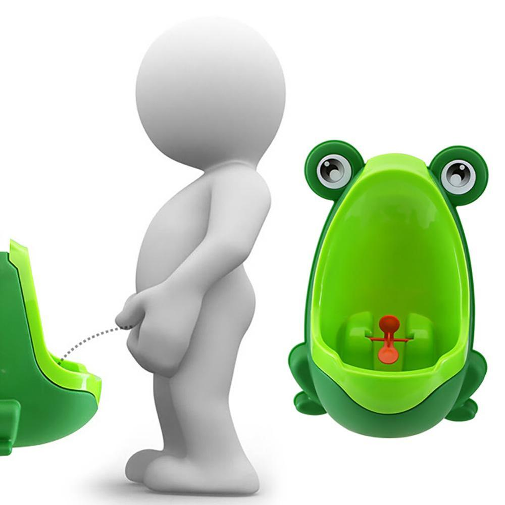 Wall-Mounted Hook Baby Boy Potty Toilet Training Kids Frog Stand Vertical Infant Toddler Bathroom Frog Urinal