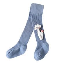 Новые детские носки, модные гольфы для маленьких девочек, мягкие теплые зимние носки с милым рисунком для малышей, повседневные забавные носки для детей 2-7 лет