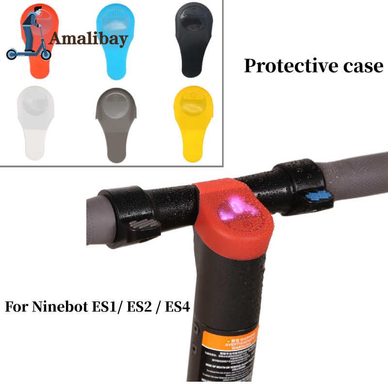 Skuter Listrik Kasus Silikon Tahan Air untuk Ninebot Es1 Es2 Es4 Dashboard Panel Papan Sirkuit Cover Memperbaiki Awal Protectio
