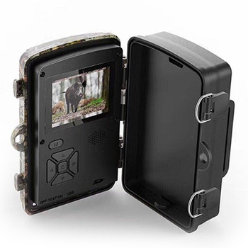 Trail Camera 12MP 1080P Game Hunting Cameras with Night Vision Waterproof 2 Inch LCD LEDs Night Vision Deer Cam Design 3