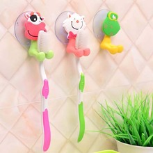 10pcs Wall Mounted Toothbrush Holder Heavy Duty Suction Cup Antibacterial Hooks Toothpaste