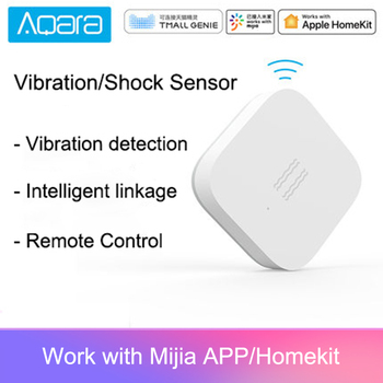 Original Aqara mijia aqara vibration / shock sensor Built In Gyro Motion sensor ,For mi home app ,International Edition
