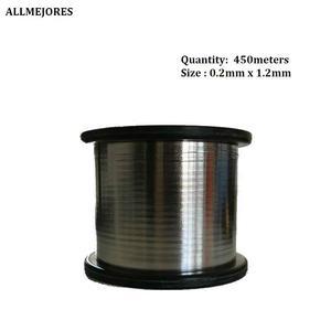 Image 3 - ALLMEJORES fil de tabulation solaire fil de barre omnibus PV ribbion panneau solaire fil de soudure cuivre avec étain livraison gratuite