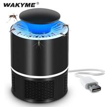 WAKYME 5V Moskito Mörder Lampe USB Fliegen Falle Lampe Hause Indoor Anti Insekten Mörder UV Licht Elektrische Anti Moskito abweisend Lampe