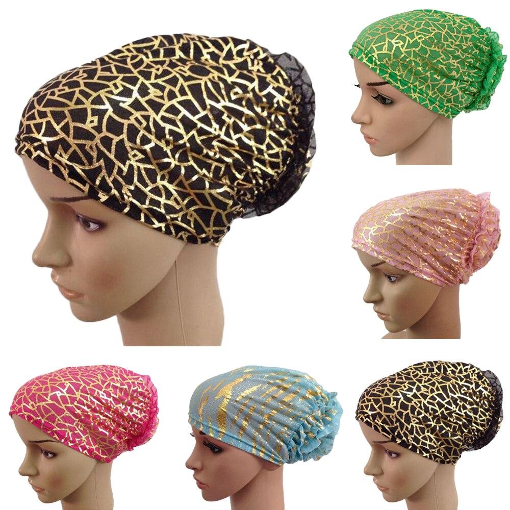 Muslim Hijab Underscarf Turban Women Islamic Beanie Bonnet Inner Caps Ninja Niqab Hat Headscarf Headwear Arab Under Scarf Covers