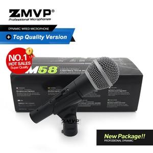 Image 1 - Nieuwe Pakket! Top Kwaliteit SM58S Professionele Bedrade Microfoon SM58SK Mic Met Real Transformator Schakelaar Voor Prestaties Live Zang