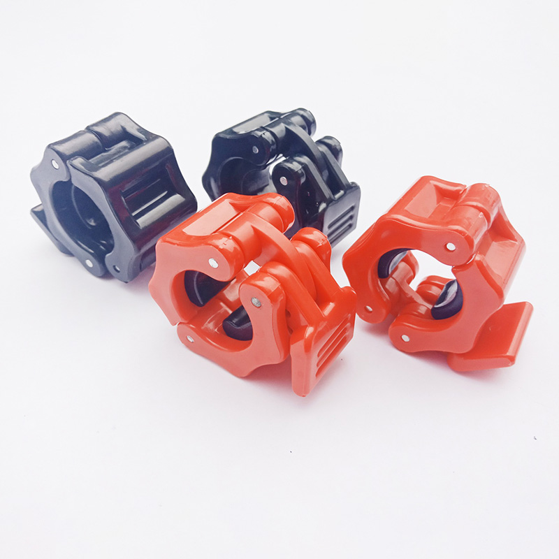 1 Pair 25/28/30mm Fitness Dumbbell Clips Barbell Collar Lock Gym Strength Training Body Building Weight Lifting Clamp