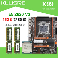 DDR4 Xeon E5 2620 V3 Kllisre X99 with CPU 2pcs 8GB--16GB 2400mhz/Ddr4/Ecc/Memory