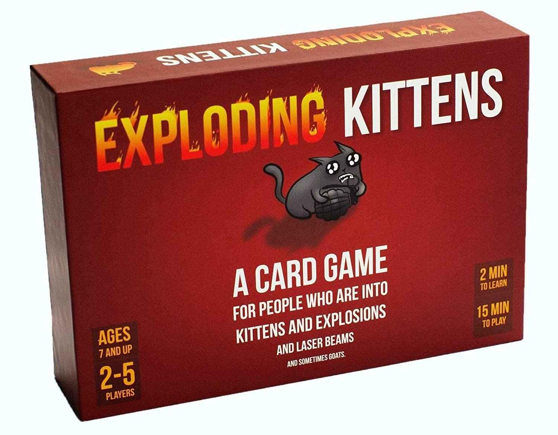 Juego de cartas divertidas gatito, edición Original, estrategia familiar, juego para niños, edición NSFW, paquete de fiesta, Adulto, adolescentes, gracioso para niños