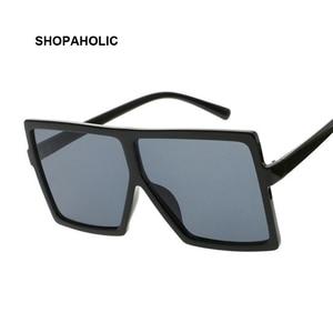 Sunglasses Square Women Sun Glasses Female Eyewear Eyeglasses Plastic Frame Clear Lens UV400 Shade Fashion Driving New