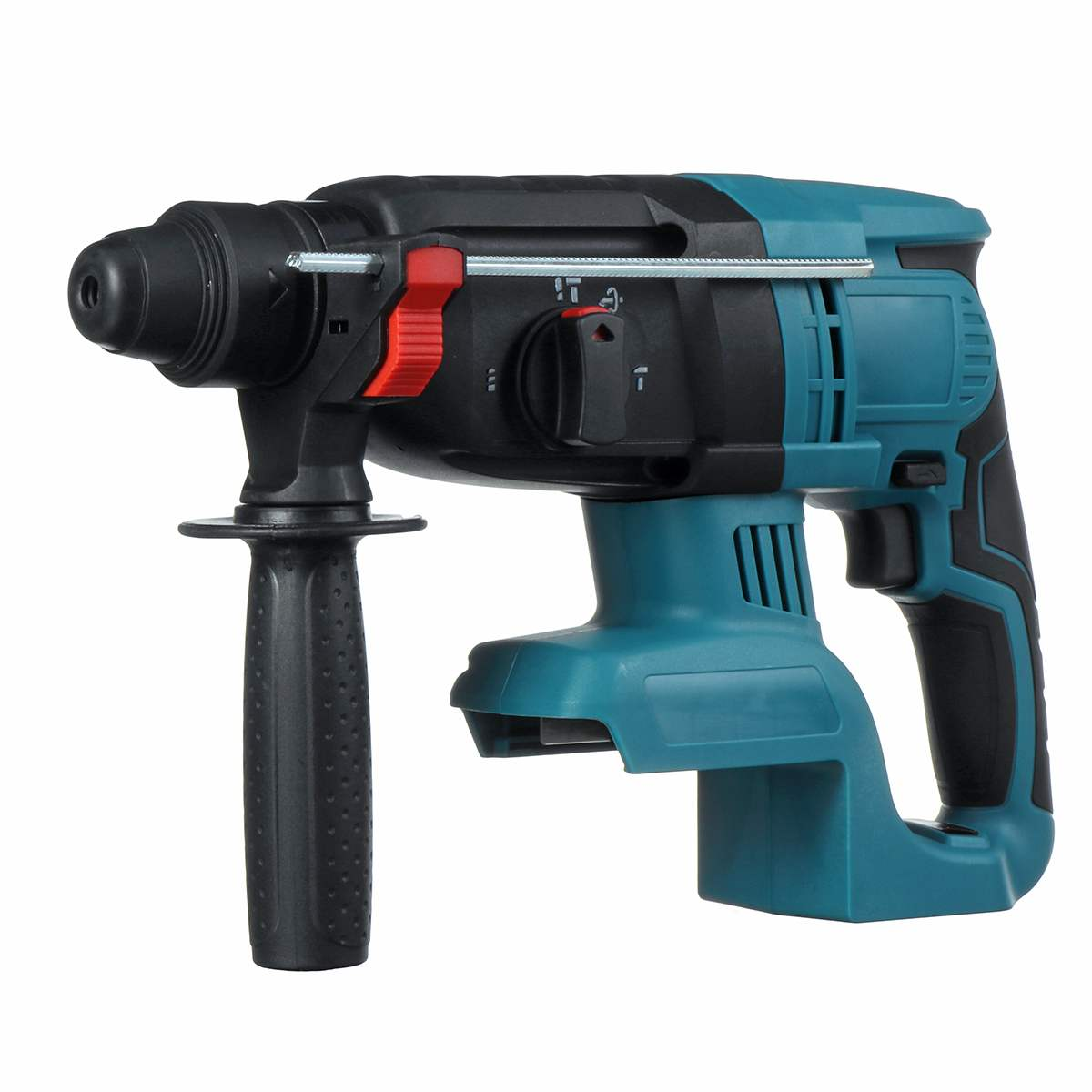 18V 4 Functions Electric Brushless Cordless Rotary Hammer Drill Rechargeable Hammer 27mm Impact Drilll For 18V Makita Battery