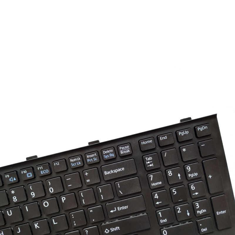 Nuevo para Fujitsu Lifebook AH532 A532 N532 NH532 MP-11L63US-D85 CP569151-01 serie ordenador portátil Teclado negro