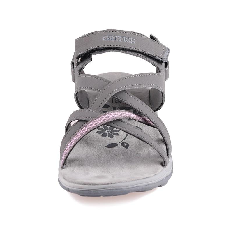Image 4 - GRITION Women Sandals Summer Sport Flat Breathable Beach Shoes Outdoor Footwear New Brand Designers Hiking Trekking Sandals 2020Beach & Outdoor Sandals   -
