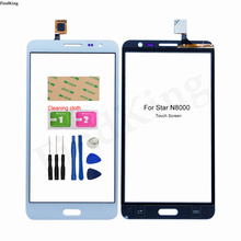5.3'' Mobile Touch Screen For Star N8000 Touch Screen Lens Sensor Digitizer Panel Tools 3M Glue