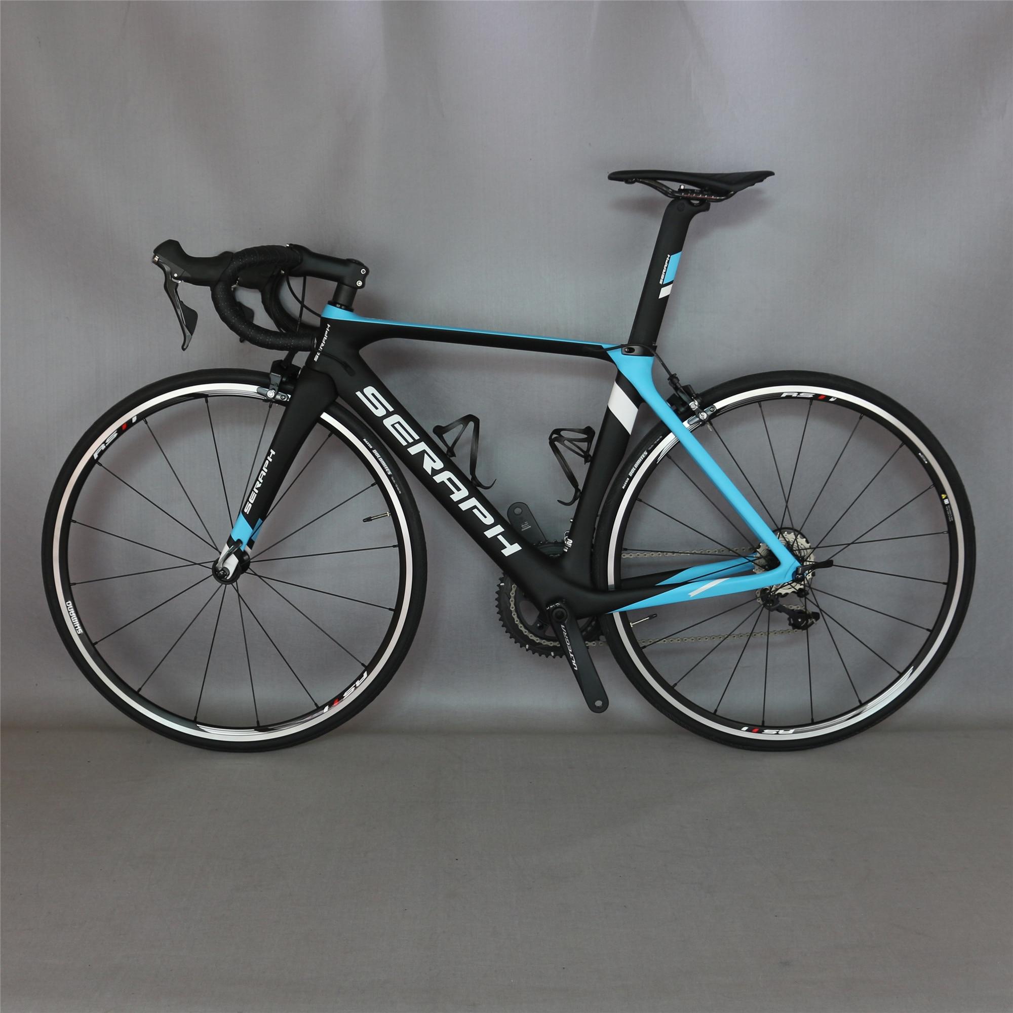 Seraph Custom Paint FM268 Aero Design Complete Bike 50.5/53.5/56.5cm  With SHIMNA00 R7000 Groupset