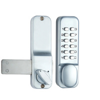Door Hardware Two Ways Anti Rust Zinc Alloy Home Digital With Combination Code Mechanical Lock Durable Push Button Waterproof